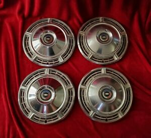 1967 Chevrolet Chevelle Hubcaps Chevy Wheel Covers 66 68