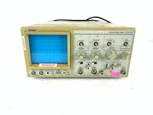 Leader Ls1020 Oscilloscope 20 Mhz 2 channel