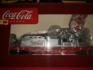 ✅ K-LINE OPERATING COCA COLA CAN SEARCHLIGHT FLAT CAR FITS LIONEL MTH COKE TRAIN