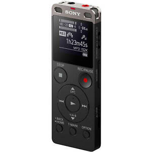 Sony Icdux560 4gb Stereo Digital Voice Recorder