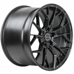 20 Brixton Forged Rf10 Black Concave Wheels Rims Fits Maserati Ghibli