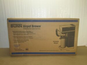 Bunn 33200 0014 Vpr aps Pourover Airpot Coffee Brewer airpot Is Not Included