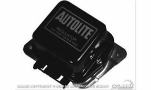 Scott Drake Voltage Regulator Steel Black Ford Each C5af 10316 b