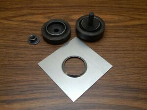 Large Dimple Die Punch For Sheet Metal Aluminum Panel 2 Inch Dimple Rolled Id