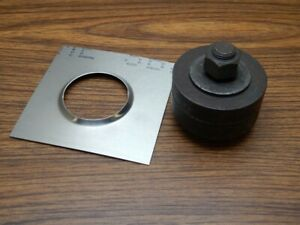 Dimple Die Punch For Sheet Metal Aluminum Panel 2 3 8 Inch Dimple Rolled Id