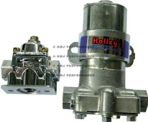 Holley 12 802 1 Blue Electric Fuel Pump 110gph 14psi Hp