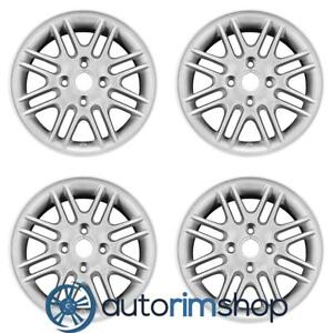 New 15 Replacement Wheels Rims For Ford Focus 2000 2011 Set Silver With Notch