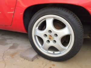 Porsche 928 Cup1 Wheels And Newer Tires 17 Inch Wheels
