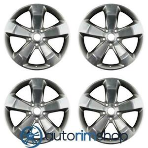 New 20 Replacement Wheels Rims For Jeep Grand Cherokee 2014 2016 Set Polished W