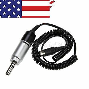 Dental Electric Motor For Marathon Micromotor Contra Angle Straight Handpiece Us