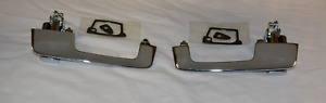 Chrome Mopar 1966 67 B Body Outside Door Handles Pair Dodge Charger Coronet