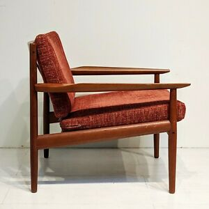 Mid Century Danish Modern Arne Vodder Teak Lounge Chair