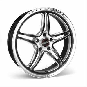 Race Star Rsf 1 Polished Wheels With Black Accent 01 745245mb