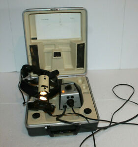 American Optical Indirect Ophthalmoscope W Power Supply In Carrying Case