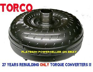 Ford Torque Converter Aode 4r70w 4r75 Mustang Mark8 2200 2600 Stall 10 65 Bc