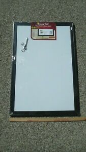 Quartet Magnetic Dry erase Board With Black Frame 24 X 36 Inc 2 Magnets
