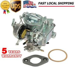 Carburetor 1 Bbl Rochester For 1963 96 Chevy Gmc 250 292 W Choke Thermostat