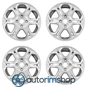 New 16 Replacement Wheels Rims For Ford Focus 2008 2009 2010 2011 Set Silver