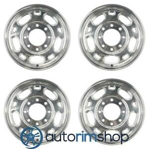 New 16 Replacement Wheels Rims For Chevrolet Silverado 2005 2010 Set Polished 1