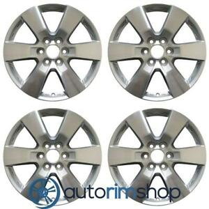 New 20 Replacement Wheels Rims For Chevrolet Traverse 2009 2015 Set Machined