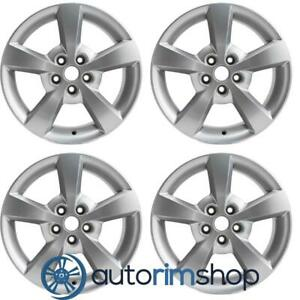 New 17 Replacement Wheels Rims For Chevrolet Malibu 2008 2012 Set Silver