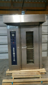Hobart Adamatic Cr01g Commercial Bakery Baking Rotating Rack Oven Nat Gas Tested