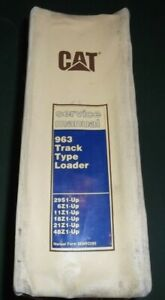 Cat Caterpillar 963 Track Type Loader Shop Repair Service Manual