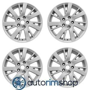 New 17 Replacement Wheels Rims For Nissan Sentra 2013 2014 2015 2016 Set Silver