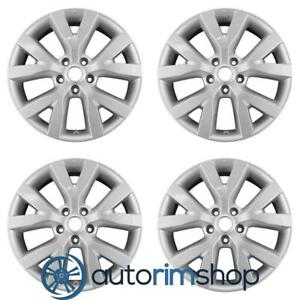 New 18 Replacement Wheels Rims For Nissan Murano 2011 2012 2013 2014 Set Silver