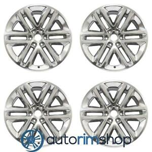 New 22 Replacement Wheels Rims For Ford Expedition 2015 2016 2017 Set Polished