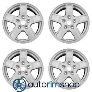 New 17 Replacement Wheels Rims For Jeep Grand Cherokee 2005 2006 2007 Set Silve