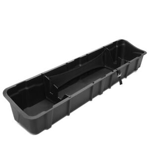 Rear Under Seat Storage Box Tool Tray For 2015 2019 Ford F150 Crew Cab Truck