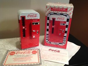 Coca Cola Collectible Die Cast Metal Musical Bank Plays Its The Real Thing 7