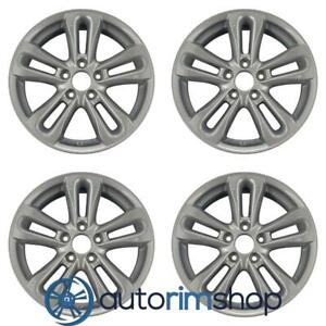 New 17 Replacement Wheels Rims For Honda Civic 2006 2011 Set Charcoal