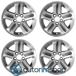 New 16 Replacement Wheels Rims For Honda Pilot 2003 2004 2005 Set Machined W