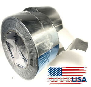 3in X 150ft Aluminum Foil Tape Hvac Tape Work Heating Ac Duc Ta 350