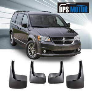 Front Rear 4pc Oe Style Splash Mud Guards Flaps For 2011 17 Dodge Grand Caravan