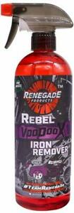 Renegade Products Voodoo X Iron Remover For Auto Detailing