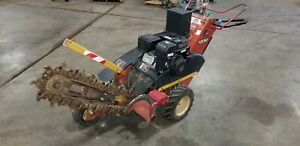 Ditch Witch 1330 Rubber Tired Walk Behind Trencher 13hp Engine