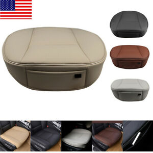 Universal Car Pu Leather Front Seat Cover 3d Full Surround Protector Cushion Mat