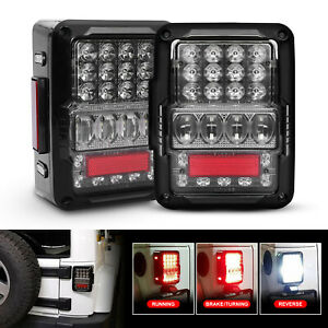2019 Emc Rear Led Tail Lights Brake Reverse Lamps For Jeep Wrangler Jk 2007 2017