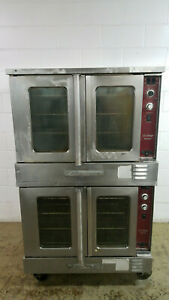 Southbend Slgs 22sc Double Stack Convection Oven Nat Gas 115 Volts 1 Ph Tested