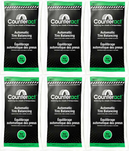 6 Bag 4 Ounce Counteract Tire Balancing Beads 4 Oz