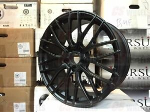 19 A1 615 Style Black Style Staggered Wheels Rims 5x114 3 5x4 5