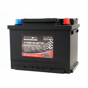 27 66 12v 65ah 1150cca Lithium Iron Phosphate Battery Lifepo4 For Automotive 4wd