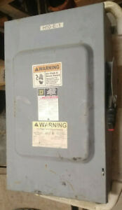 1 Used Square D H364 Series Fc5 Safety Switch 200a make Offer