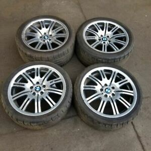 Bmw E46 M3 19 19 Inch Set Of Wheels Rims Alloys Tires M Tech 36112229950