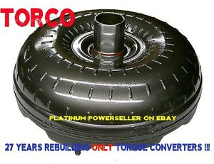 C6 Ford Torque Converter 302 351 460ci With 1 Year Warranty 1 375 Pilot