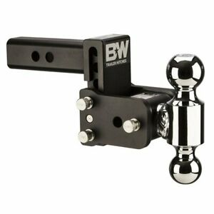 B W Trailer Hitches Ts10033b Tow Stow 3in Drop 3 5in Rise 2x2 5 16 In Dual