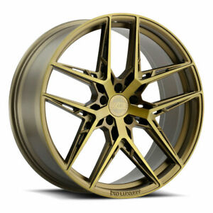 19 Xo Cairo Bronze 19x8 5 19x9 5 Forged Concave Wheels Rims Fits Nissan Maxima